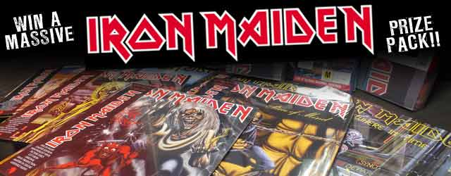 Win a massive Iron Maiden prize pack - Want to get your hands on some seriously sick Iron Maiden merchandise? Just tell us why you're the biggest Iron Maiden fan in the country and it could be all yours!