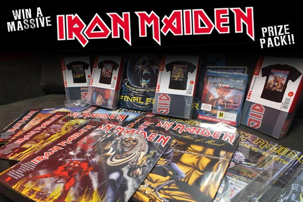 Win a massive Iron Maiden prize pack