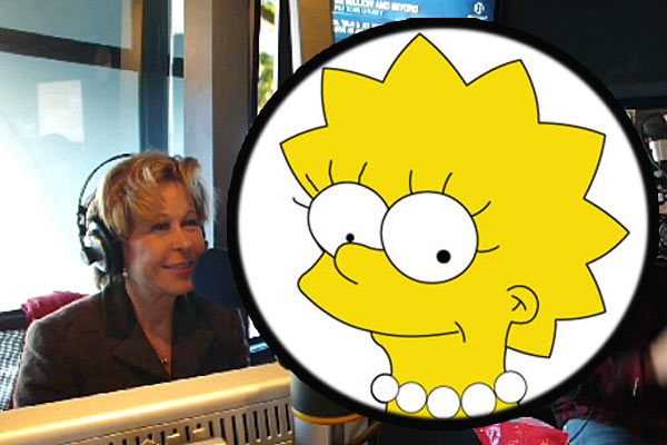 Lisa Simpson talks to The Rumble