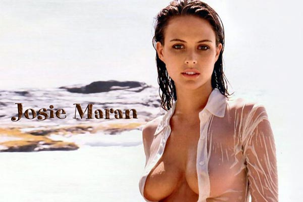 Dunc's Hot MILF: Josie Maran