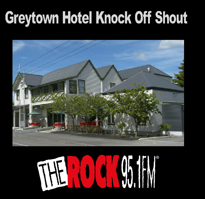 Greytown Hotel Knock Off Shout