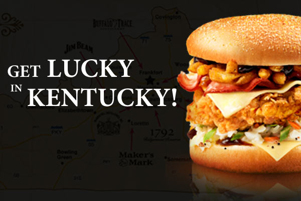 Get Lucky in Kentucky with KFC