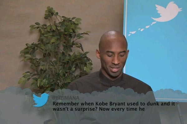 Mean tweets: NBA edition