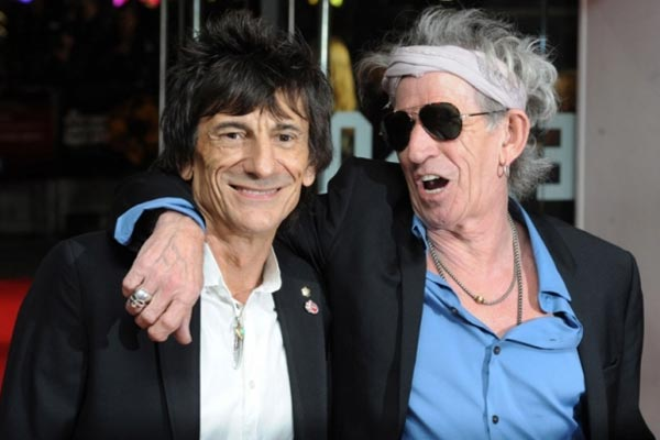 Keith Richards pokes fun at bandmate Wood's rehab stints