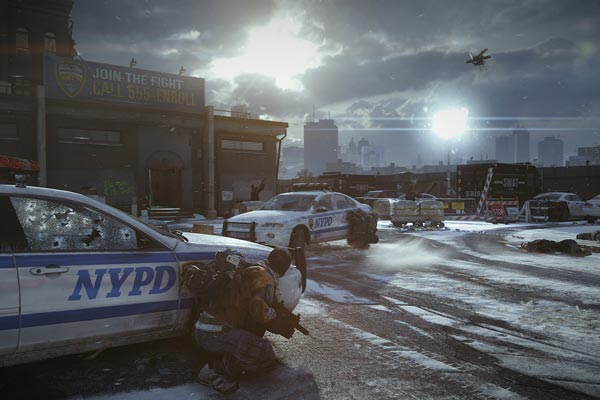 "PS4 game ""The Division"" gameplay footage"