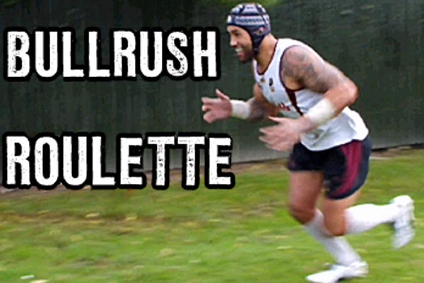 A bunch of stunts - Bullrush roulette