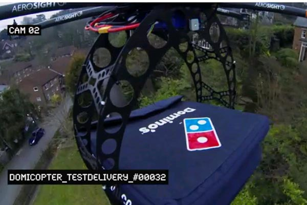 Domino's Domicopter