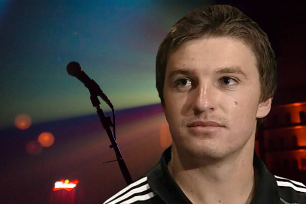 Beauden Barrett plays Black Factor