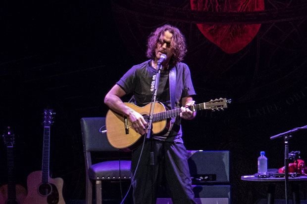 Chris Cornell is known for his success as lead singer of Soundgarden and Audioslave. He has sold over 30 million records worldwide. Pic: Bradley Garner for The Rock