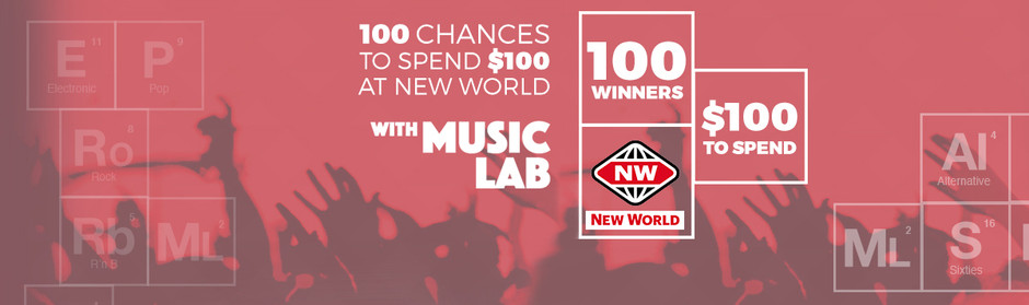Win one of 100 $100 New World vouchers