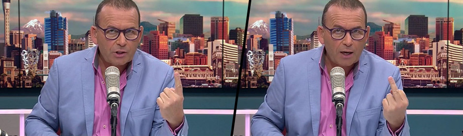 WATCH: Paul Henry flips the bird during TV show