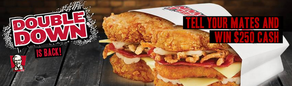 KFC's Double Down is back