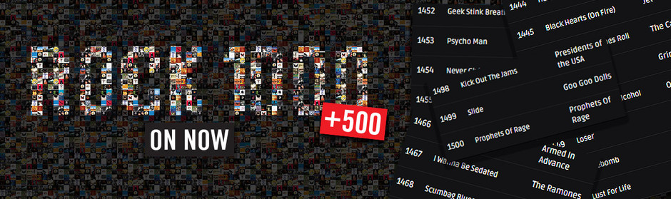 The Rock 1000 + 500 - on now