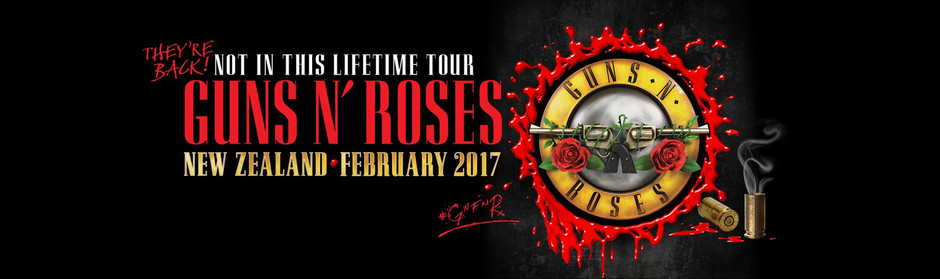 Guns N' Roses are returning to NZ