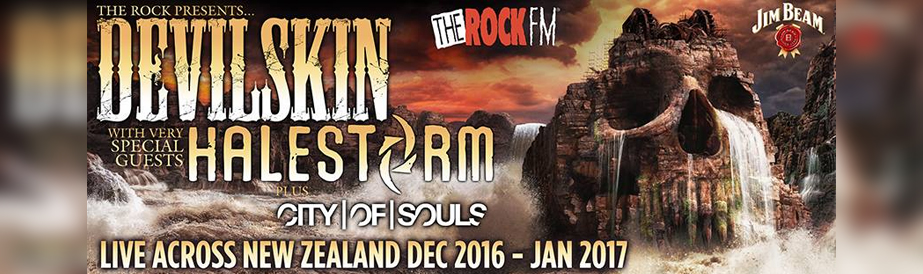 Devilskin are touring NZ with Halestorm this summer