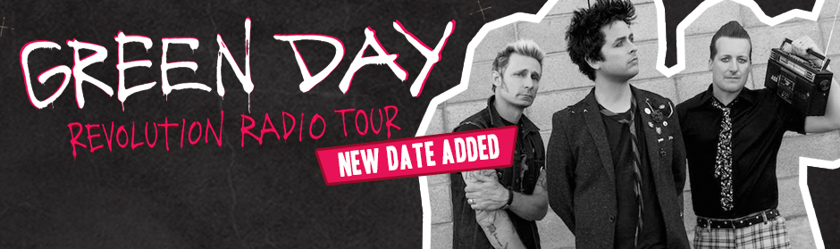 Green Day announce second NZ show