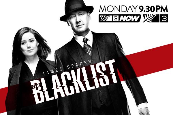 Catch the new season of Blacklist on TV3